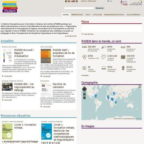 Nouveau site de l'IFADEM | Focus IFADEM | Scoop.it