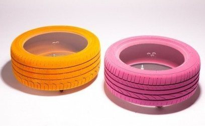 IDEE ARREDAMENTO: la nuova vita di un pneumatico | Craft design | Scoop.it