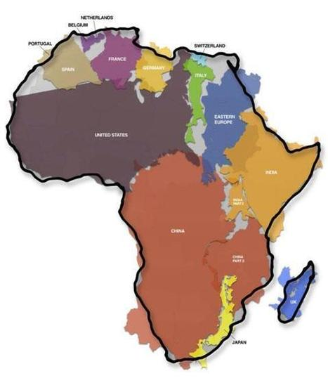 Twitter / MostSecretFacts: Africa is larger than China, ... | The African | Scoop.it