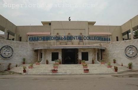 Karachi Medical and Dental College - Superior Educationz | Superioreducationz.com | Scoop.it