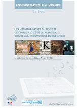Le rendez-vous des Lettres - Les métamorphoses du livre et de la lecture à l'heure du numérique | Veille numérique pédagogique pour l'enseignement des Lettres | Scoop.it
