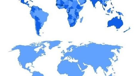 World Map Vectors | Webdesign Glance | Scoop.it
