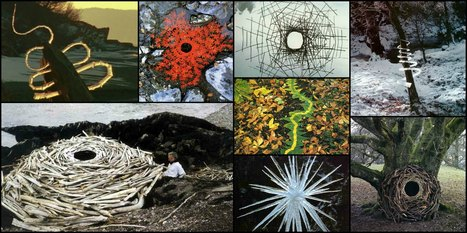 Andy Goldsworthy, alliance parfaite de l'art et de la Nature | Arty Brain | Scoop.it