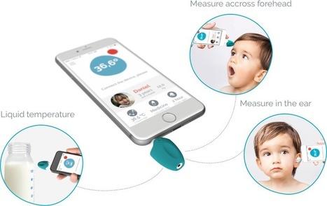 Oblumi Tapp, un thermomètre connecté pour enfants   Web of Objects - Connected Objects - Internet of Things - Wearables - Internet des Objets - Objets connectés   Scoop.it