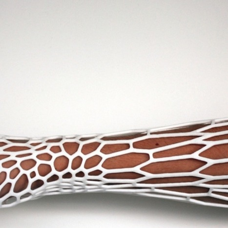 A New Way to Heal Broken Bones: 3D-Printed Casts | Invent To Learn: Making, Tinkering, and Engineering in the Classroom | Scoop.it
