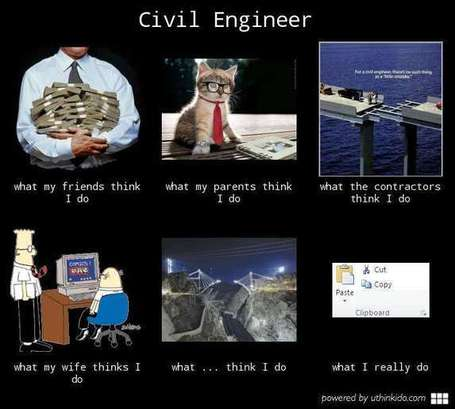 Civil Engineer | What I really do | Scoop.it