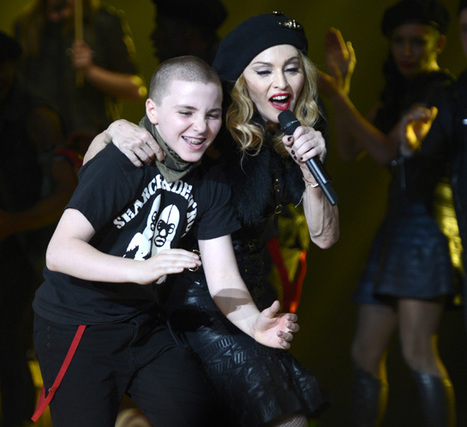 Madonna's Son Rocco Dances & Blows Her A Birthday Kiss In Home Video - TV Balla | News Daily About Movie Balla | Scoop.it