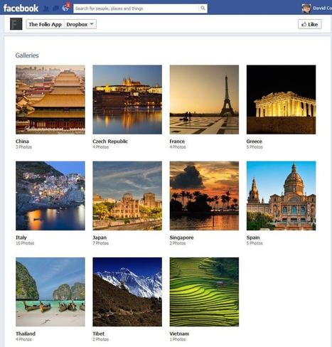 Tabfusion App Brings Dropbox Galleries To Facebook Pages - AllFacebook | Future of Cloud Computing and IoT | Scoop.it