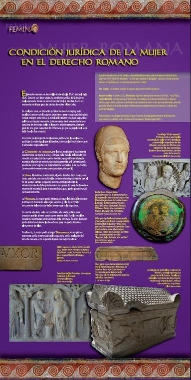 Femina ES: FEMINA KUANUM: CONDICIÓN JURÍDICA DE LA MUJER EN EL DERECHO ROMANO   Roma Antiqua   Scoop.it