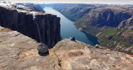 Drone footage of base jumpers in Norway is beautifully bonkers | ♡ James & Mary ♡ | Scoop.it