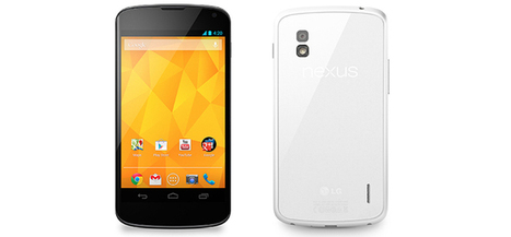 LG White Nexus 4 officially confirmed arriving to market very soon - PcGin | PcGin - PC, Gadgets, Tablets, Phones, Laptops | Scoop.it