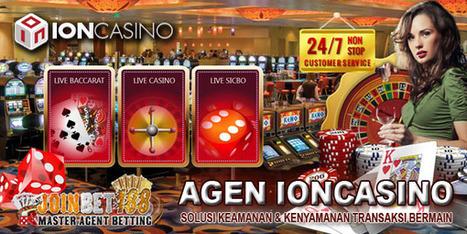 Joinbet188 Agen IONCasino Terpercaya | Agen Bola | Judi Online | Casino Online | Taruhan Bola | Prediksi Bola Hari Ini | Scoop.it