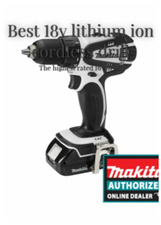 Best 18v lithium ion cordless drill: The highest rated 18v drills | Stuff For Home | Scoop.it
