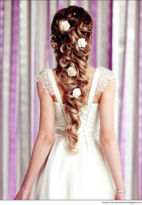 15 Amazing Wedding Hairstyles for Long Hair | Bridal Hairstyles | Health and Wellness | Scoop.it