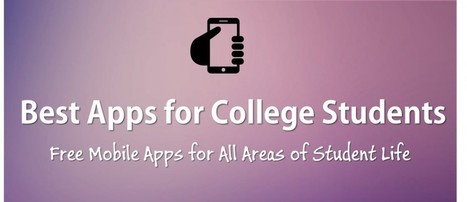 10 Best Apps for College Students for 2015 | ExamTime | Education Technology | Scoop.it