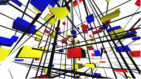 Infinite Mondrian @ J/S/SOLICHIN | art web science and stuffs | Scoop.it