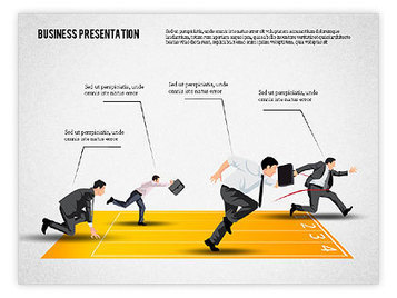 Business Competition Concept | PowerPoint Diagrams, Charts, and Shapes | Scoop.it