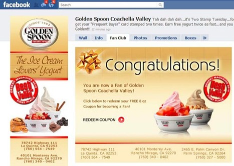 Case study by InfiniGraph - social intel for targeted social ads_Golden Spoon stores | Social_media-casestudies | Scoop.it