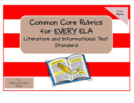 Simply Centers: Common Core ELA Rubrics | Common core | Scoop.it