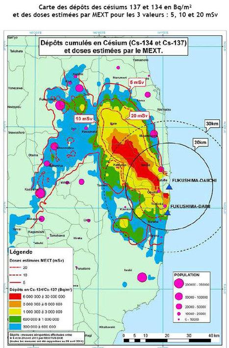 Gestion radiologique des territoires contaminés suite accident de Fukushima : l'IRSN   Japon : séisme, tsunami & conséquences   Scoop.it