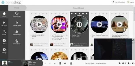 Ecoutez votre musique avec Songdrop! | e-News | Scoop.it