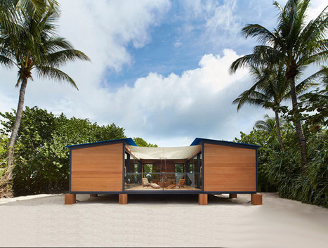 charlotte perriand's la maison au bord de l'eau is a louis vuitton tribute - designboom | architecture & design magazine | architecture | Scoop.it