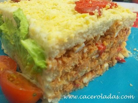 Caceroladas: Pastel frio de atún con pan de molde.   Mis recetas favoritas   Scoop.it