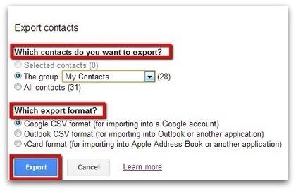 Google Apps Experts: How to Import or Export Contacts between Google Accounts | Google: baliabideak | Scoop.it