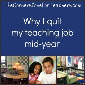 Why I quit my teaching job mid-year | The Cornerstone | Banco de Aulas | Scoop.it