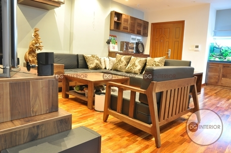 Ấn tượng dự án thi công nội thất chung cư phong cách hiện đại tại Nghĩa Đô | Thiet ke noi that chung cu Royal City | Scoop.it