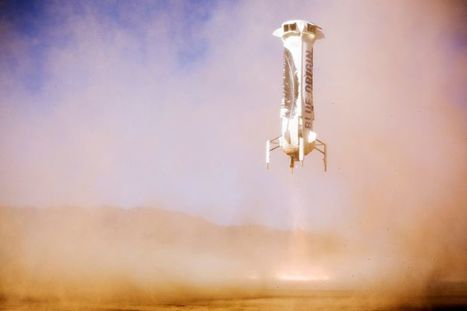Blue Origin Relaunched the Rocket it Landed in November | Books, Photo, Video and Film | Scoop.it