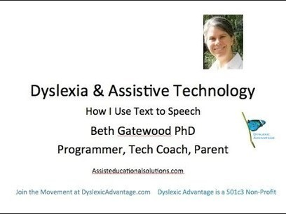 Dyslexia and Assistive Technology: How I Use Te... | Dyslexia Potential | Scoop.it