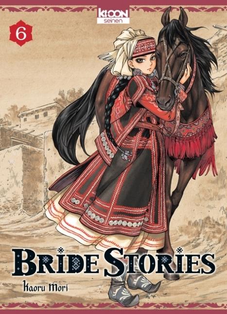Manga - Bride stories, tome 6 - Ed. Ki-oon   Nouveautés du CDI   Scoop.it