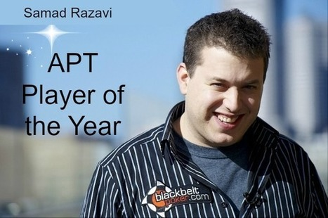Samad Razavi Reflects on his APT POY win and career so far | diva | Scoop.it