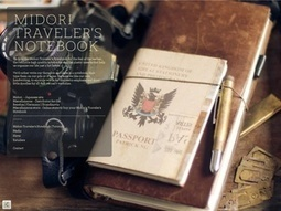 MIDORI TRAVELER'S NOTEBOOK | The Romance of Analogue | Scoop.it
