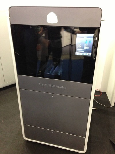 The Highly Defined 3D Systems ProJet 3500 HDmax | 3D Printing and Fabbing | Scoop.it