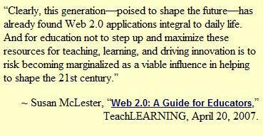 10 Internet Technologies Educators Should Be Informed About – 2011 Update | Emerging Education Technology | Differentiation Strategies | Scoop.it