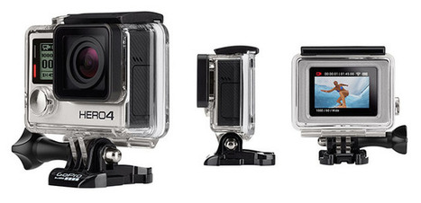 GoPro HERO4 Revealed! 4K Video at 30FPS and the First Built-In Touch Display | Aspiring Outliers | Scoop.it