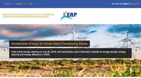 """""""Sustainable Energy for Small Island Developing States"""" startet durch!   Hamburg Open Online University   MOOC in DACH (Deutschland, Österreich & Schweiz)   Scoop.it"""
