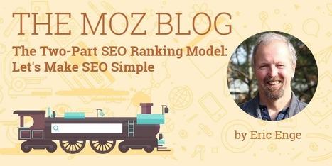The Two-Part SEO Ranking Model: Let's Make SEO Simple | El Mundo del Diseño Gráfico | Scoop.it