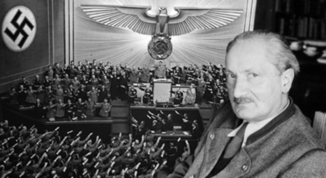 Heidegger's notebooks reveal an early blindness to the Nazis' reality | Virtual Musing: sensemaking and organising  in the digital world | Scoop.it