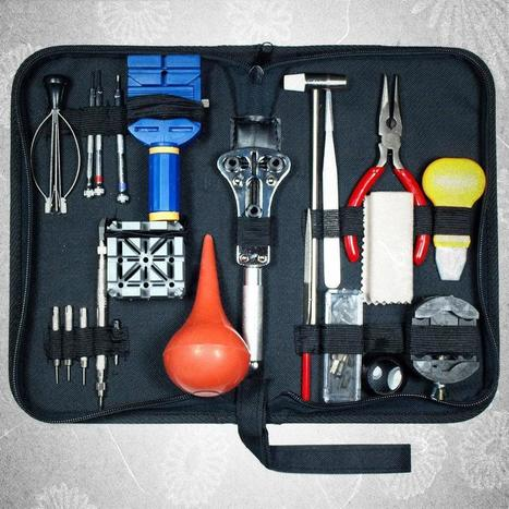 Components of a Watch Repair Kit | Best watch maker tools | Scoop.it