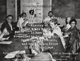 Shimer College and the Future: Shimer symposium at Growling Rabbit in Chicago, August 30 | Shimer College | Scoop.it