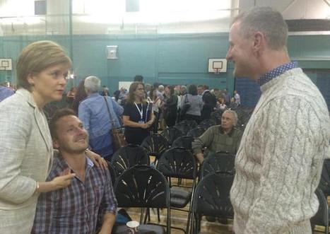 Nicola Sturgeon enlisted to help man propose - Scotsman | My Scotland | Scoop.it