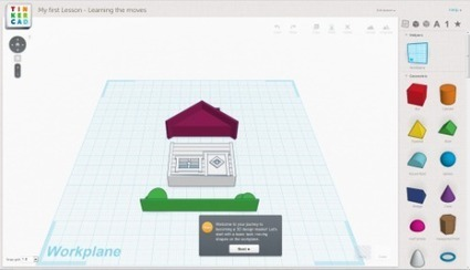 Web based 3D / CAD for kids: Tinkercad & 3DTin (Bonus: Origo, a 3D printer for 10 year olds) - Welcome to NCS-Tech! | Apps for the Student-Centered Classroom | Scoop.it