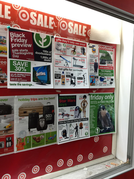Man plants fake Black Friday sale signs at Target | Humourous | Scoop.it
