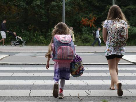 Only 25 per cent of children walk to school alone compared to 86 per cent in 1971. What went wrong? | Urban mobility... | Scoop.it