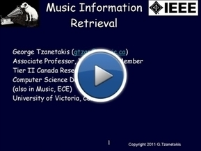 Music Information Retrieval, a tutorial | Computational Music Analysis | Scoop.it