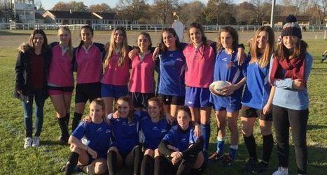 Les cadettes remportent la finale départementale de rugby à VII | Lycée Alain-Fournier, Mirande | Scoop.it