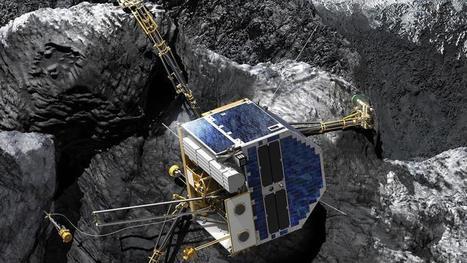 Derniers adieux à Philae, perdu sur sa comète   Vous avez dit Innovation ?   Scoop.it